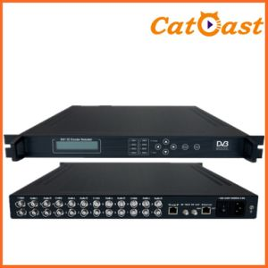 8 CH 8cvbs+Audio and IP Input DVB-T SD with RF Output Encoder Modulator pictures & photos