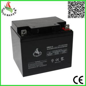 12V 38ah VRLA Rechargeable Sealed Lead Acid Battery for UPS