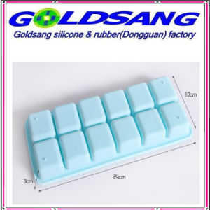Normal Shape Silicone Ice Cube Tray pictures & photos