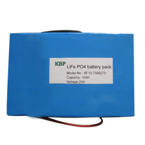 24V Life Po4 Rechargeable Battery Pack for Electric Bike (10Ah)