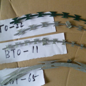 3.0 mm Galvanized Razor Barbed Wire pictures & photos