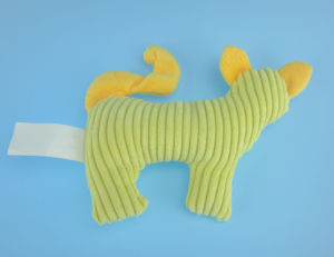 Plush Cat Pet Toy with Squeaker pictures & photos
