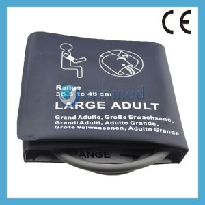 Large Adult NIBP Cuff Without Bladder, Single Tube, 32.1-43.4cm pictures & photos