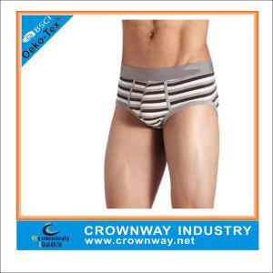 Cotton Breathable Fashion Stripe Underwear for Men pictures & photos