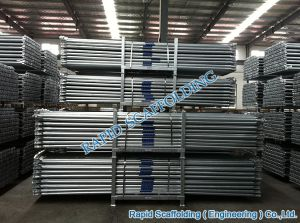 Standard Galvanized CE Ringlock Scaffolding pictures & photos