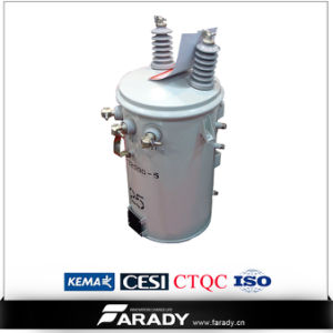 Pole Mounted Step Down 15kVA Transformer Single Phase pictures & photos