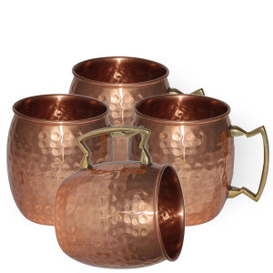 Solid Copper Hammered Moscow Mule Copper Mug 16 Oz pictures & photos