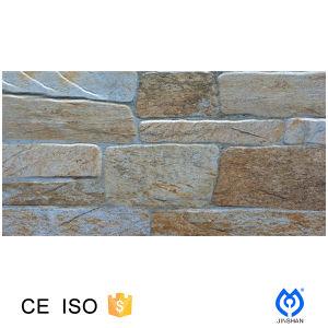 300X600 Stone Look 3D Porcelain Wall Tile for Outside Wall