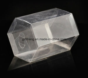 Customized Clear PVC Box (plastic hexagon can) pictures & photos