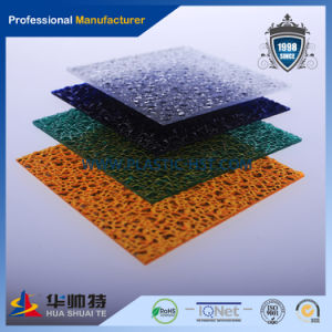 Embossed Solid Plastic Polycarbonate PC Diamond Sheet pictures & photos