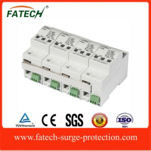 25kA type 1 lightning SPD surge protector with spark gap pictures & photos