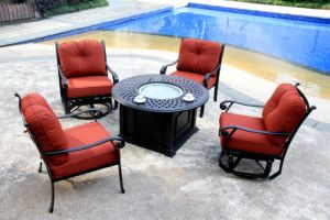 Popular Fire Pit Set Furniture for Garden pictures & photos