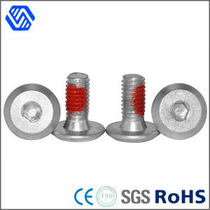 Hex Socket Bolt Carbon Steel Dacromet Allen Bolt with Teflon Paste Surface pictures & photos