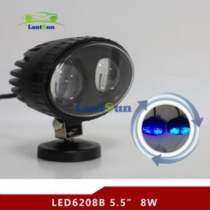 LED6208 Wholesale 8W Blue LED Safety Spotlight for Forklifts pictures & photos