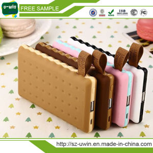Cookie Shaped 4000/8000mAh Power Bank Portable Charger pictures & photos