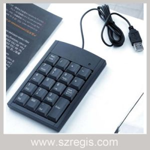 Free Switch External Computer Keyboard USB Laptop Computer Numeric Keypad pictures & photos