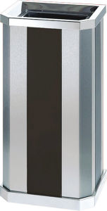 Stainless Steel Waste Can for Lobby (YH-10C) pictures & photos