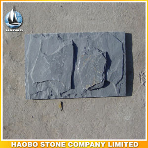 Dark Gray Wall Slate Tile Factory Direct Mushroom Stone pictures & photos