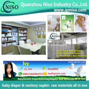 Breathable Hydrophilic Nonwoven for Diaper Topsheet Baby Diaper Raw Materials pictures & photos