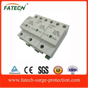 Wholesale Importer of Chinese Goods in India 3 Poles 50ka Type 1 Lightning Arrester Surge Protection Device pictures & photos