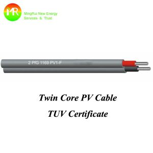 DC Solar Cable PV-2X1.5mm2 Tinned Copper pictures & photos