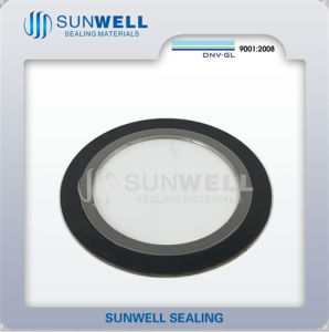 ANSI/ASME Monel400 Spiral Wound Gasket Sunwell Sealing Gasket pictures & photos