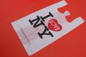 I Love Ny Printed T-Shirt Bag Shopping Bag pictures & photos