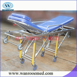 Aluminum Alloy Stretcher Bed for Patients pictures & photos