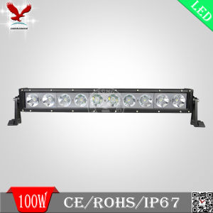 High Power 100W Single Row Offroad LED Driving Light Bar (HCB-LCS1001)