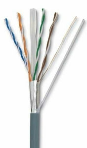 Frame Resistant FTP CAT6 Cable pictures & photos