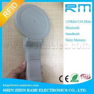 Handheld Livestock Scanner, 134.2kHz Animal RFID Tag Reader pictures & photos