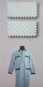 ESD Garment Accessory ESD Diamond Grid Fabric, Anti-Static Knitting Fabric pictures & photos