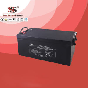 Deep Cycle Battery 12V270ah Fro UPS and Solar Use Lead Acid Battery pictures & photos