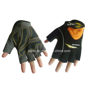 Fashion Gym Bicycle Half Finger Cycling Padding Bike Sports Glove pictures & photos