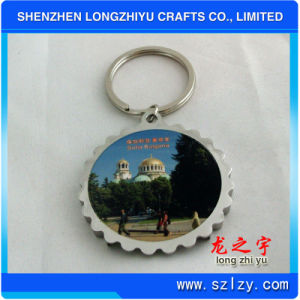 Round Metal Image Keychain pictures & photos