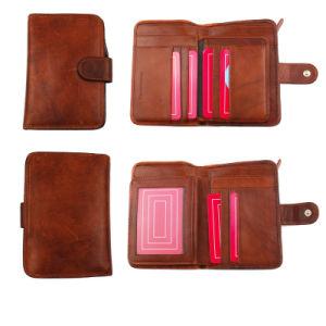 2016 Latest Fashion Men Vertical Leather Wallet