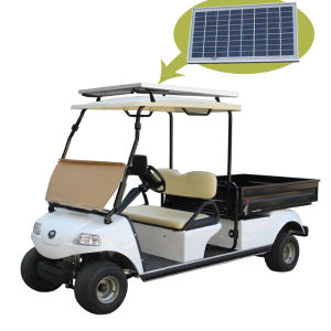 Solar Panel Electric Vehicle Cargo Truck Del3022dh pictures & photos