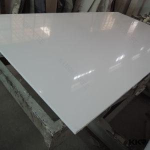 Kkr Artificial Marble Pure White Quartz Slab for Floor Tile pictures & photos