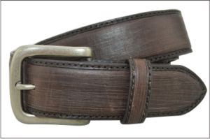 Dark Brown Genuine Leather Business Men Belt pictures & photos
