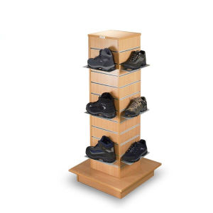 Slatwall Gondolas/Store Display Rack for Shoes pictures & photos