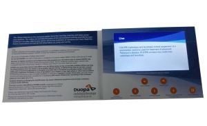 Business promotion LCD Screen Video Brochure pictures & photos