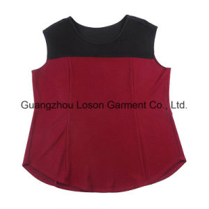 New Fashion Hot Sale Mult Color Girl′s Vest