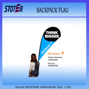 Printing Backpack Flags Walking Display