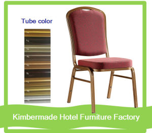 (AC12079) High Back Stackable Metal Banquet Chair in Hotel Restaurant Furniture Chair