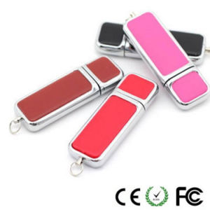 Hot Selling Whistle Leather USB Flash Drive pictures & photos