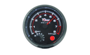 "3 3/4"" (95mm) Tachometer for Single Color LED Tachometer (8044BB) pictures & photos"