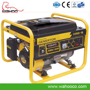 2.5kw Three Phase Gasoline Generator with CE (WH3500-B) pictures & photos