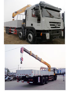 8X4 Iveco Crane Truck with Crane 20ton Truck Crane pictures & photos