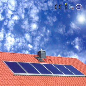 Beautiful Pressurized Flat Solar Hot Water System pictures & photos