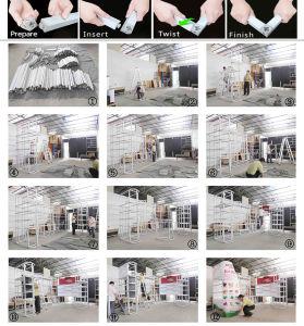 Durable Green Flexible Portable Modular DIY Trade Show pictures & photos